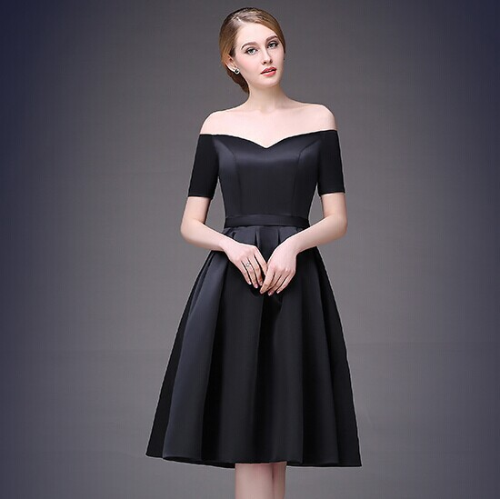 Compare Prices on Modest Black Bridesmaid Dresses- Online Shopping ...