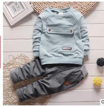 2016 new baby clothes kids suits 0-3 Big bag + pants children tracksuit boys and girls clothes set kids clothes(China (Mainland))