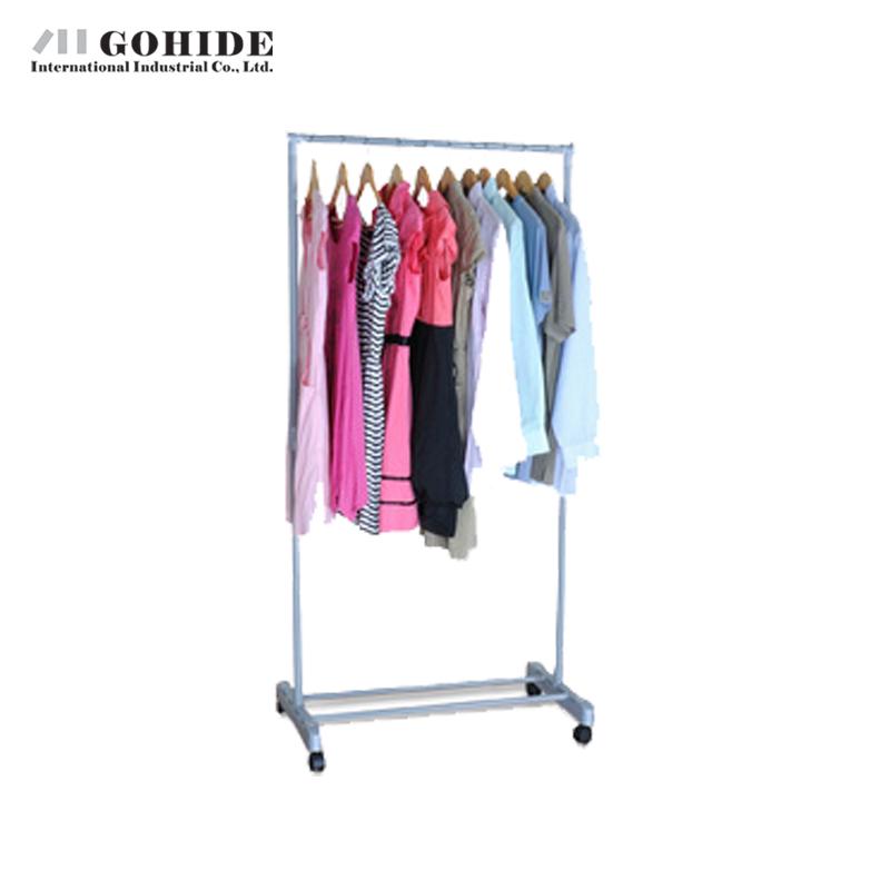 Gohide Combination Hanger Drying Racks Yj75-1 Coat Racks Simple Assembly Clothing Racks Hanger Furniture Folding Clothes(China (Mainland))