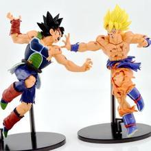 17cm PVC anime figures toys action model Dragonball Z MSP large group of vertical Badakhshan Son Gokou Goku hand-done model doll