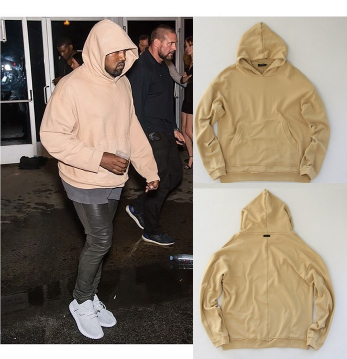 2016 kanye west represent men hoodies hi streetwear beige hoodies soild sweatshirt hip hop hooded baggy oversize swag clothingОдежда и ак�е��уары<br><br><br>Aliexpress