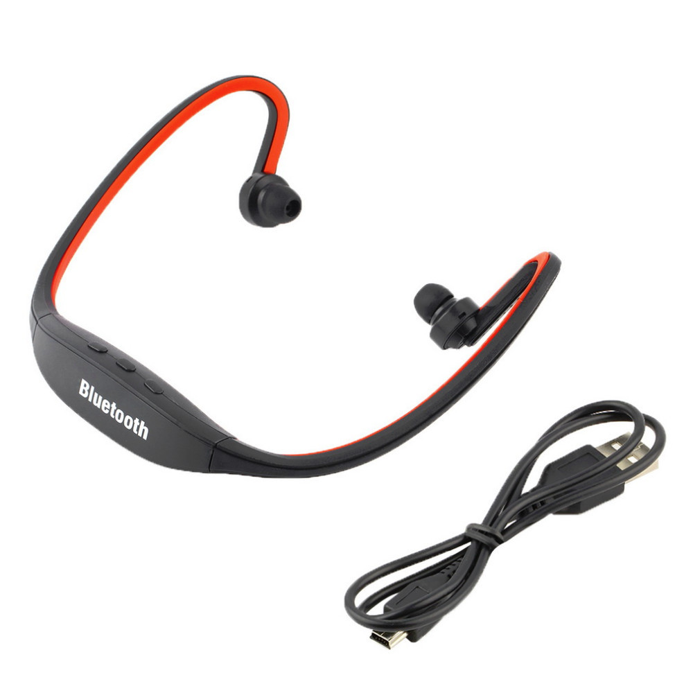 2016 Newest Sport Stereo Wireless Bluetooth  Headphone for iPhone 5/4 galaxy S3 S4 S5 for Smartphone Laptop Tablet