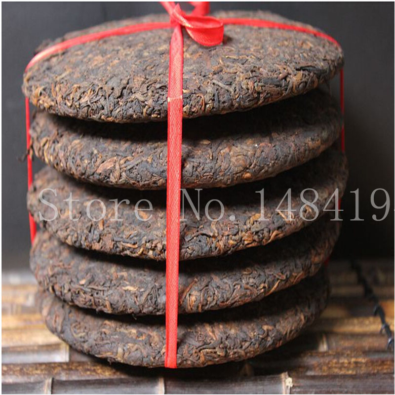 Promotion made in 1970 Chinese Ripe Puer black Tea green natural health food,old tea cooked Pu erh tea lose weight products(China (Mainland))