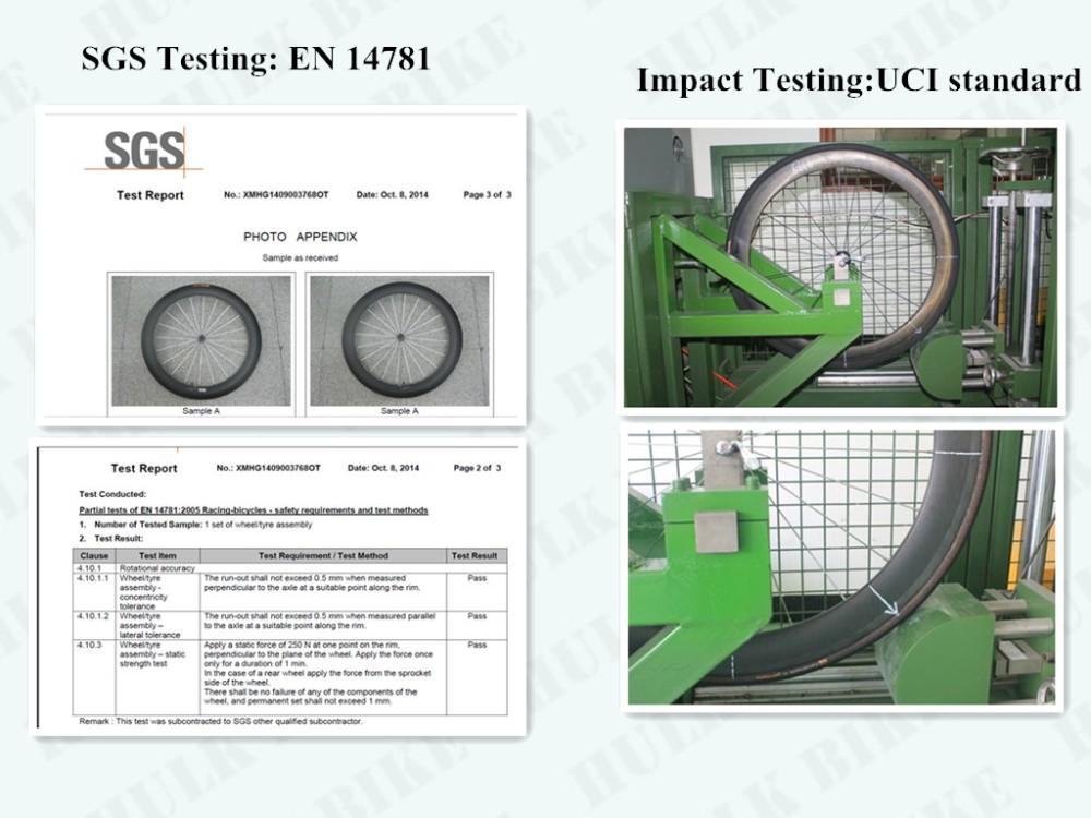 UCI testing