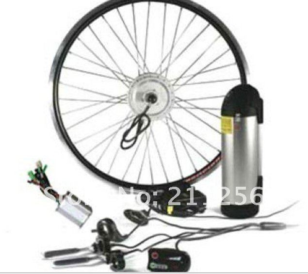 Last ONE! Ebike Rear Hub geared Motor kits 24V 250W Electric bike Kits with 24V 10Ah lithium downtube bottle battery and charger(China (Mainland))