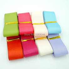 "New Arrival mixed Color Grosgrain Ribbon for hairbows 1"" 25mm 100yard mixed 8 Color free shipping"
