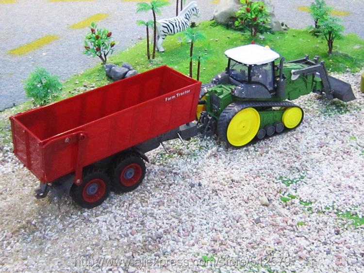 Remote Control Tractor Trailer Trucks : Big electric digger remote control multifuncional rc farm