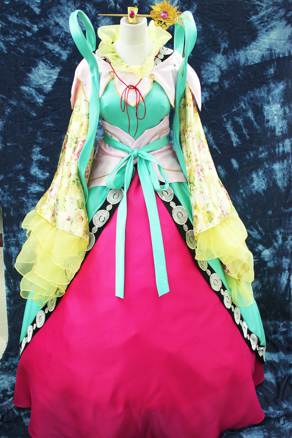 Anime Cosplay MAGI Kougyoku Ren cos Traditional Clothing Princess Cosplay CostumeОдежда и ак�е��уары<br><br><br>Aliexpress