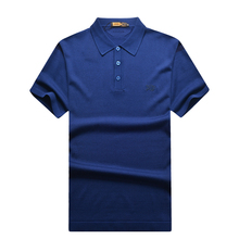 Zilli men's clothing t-shirt summer short-sleeve 2016 male straight  casual comfortable breathable plus free shipping