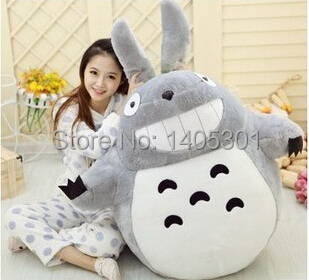 1pcs 40cm Japan Anime Figure Plush pp Cotton My Neighbor TOTORO Pillow Toy Chinchilla Plush Toy Christmas Birthday Gifts(China (Mainland))