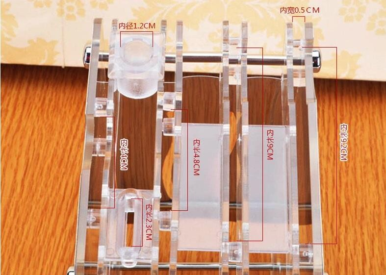 Buy Acrylic Knives Kitchen Storage Holders Racks free shipping cheap