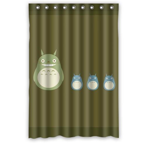 nice Custom My neighbor totoro 48x72 Home Living Waterproof for Bathroom Best Shower Curtain(China (Mainland))