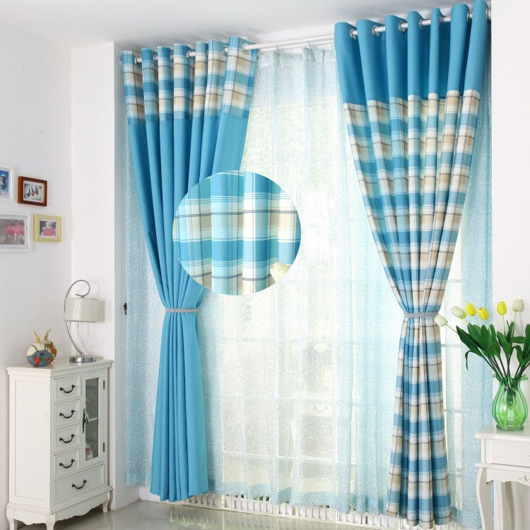 Free Shipping -europe decoration curtain window screening finished product quality bed room sheer curtain panel(China (Mainland))
