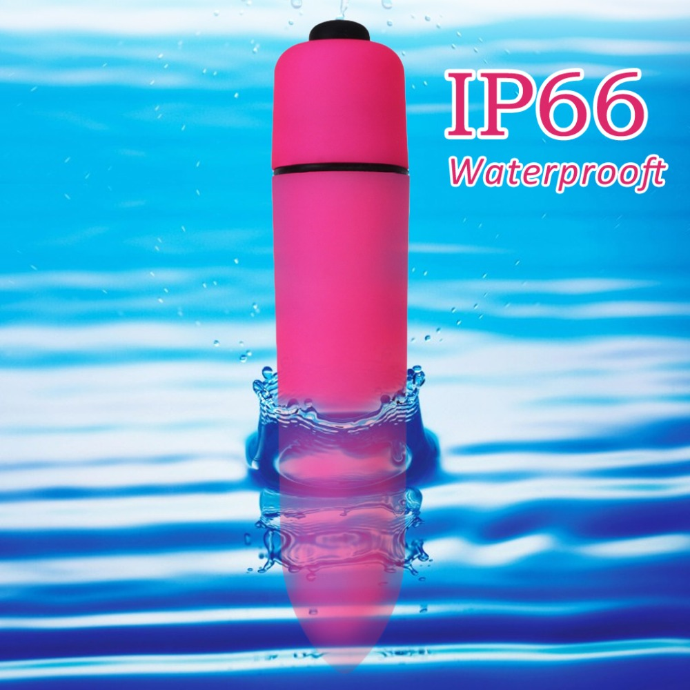 JOYGRACE Waterpoof Pocket Magic Wand Body Vibrator Ten Speed Relaxing Bullet Massager Red Adult Sex Toys Sex Products(China (Mainland))