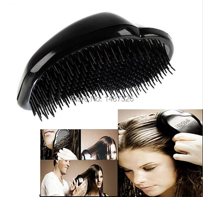 New Super Elastic Head Scalp Massage Comb Hair Brush Stress Relax(China (Mainland))