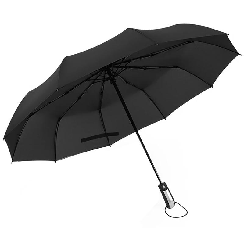 Un paraguas invisible que te protege de la lluvia y que
