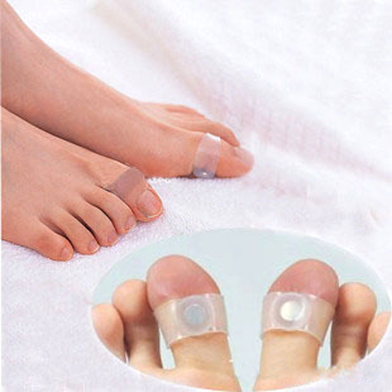 Free Shipping Guaranteed 100% New Magnetic Silicon Foot Massage Toe Ring Weight Loss Slimming Easy&Healthy Wholesale(China (Mainland))