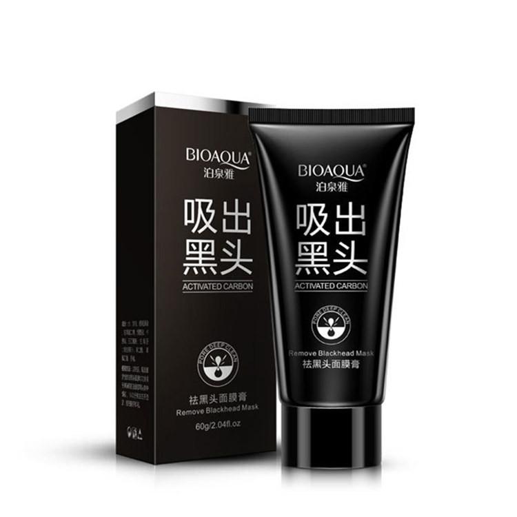 BIOAQUA Marca de Cuidados Da Pele Facial Removedor de Cravo Limpeza Profunda Máscara Pilaten Sucção Anti Tratamentos Da Acne Cabeça Preta Máscara 60g