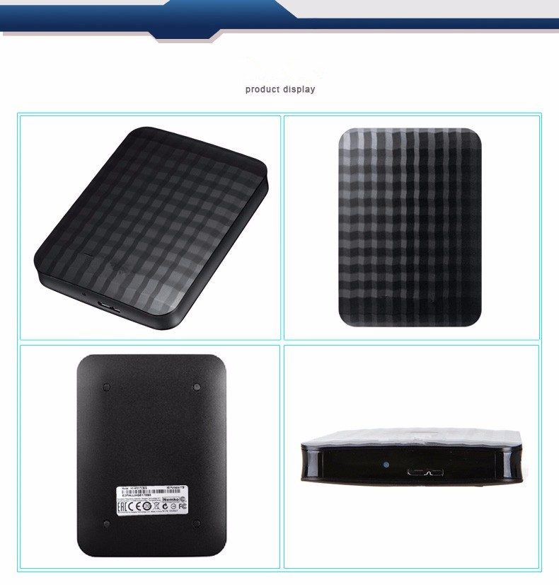 "Hard disk M3 1.tb/2 TB 2.5 ""3.0 Portable USB Hard Drive HDD Black External Hard drives 3 Year giant free shipping(China (Mainland))"