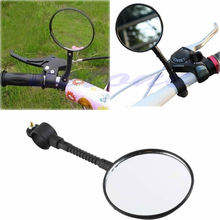 Buy 1pc Bike Mirrors Bicycle Handlebar Flexible Rear Back View Rearview Mirror Black for $1.37 in AliExpress store