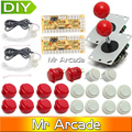 Arcade Joystick DIY Kit Zero Delay Arcade DIY Kit USB Encoder To PC Arcade Sanwa Joystick