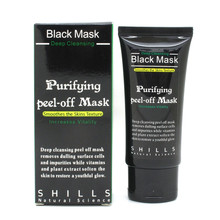 Suction Black Mask Face Care Facial Mask Nose Face Deep Cleansing Peeling Off Blackhead Romover Acne Treatment 50ml