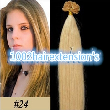 Medium Natural Blonde Hair Extensions 34