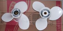 Free shipping parts for Yamaha  Honda aluminum alloy  9.9 - 15 HP 8 inch  propeller 9 1/4*8-J(China (Mainland))