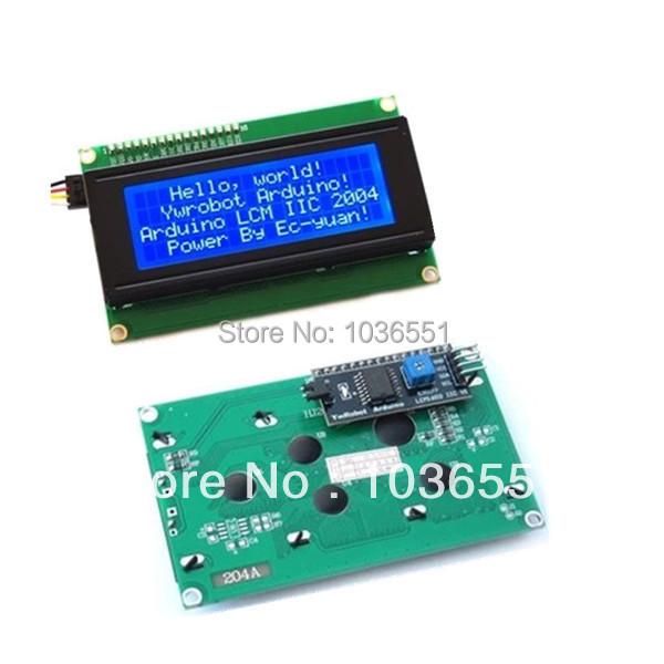Pcs lot iic i c interface lcd module display v