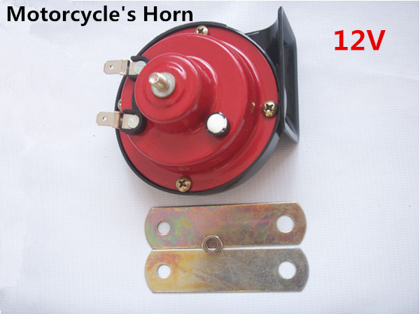 Hot Replacement Parts 12v Electric Bike Motorcycle Horn Snail Horn Pure Copper Core Car and Motorcycle's Horns Bell Modification(China (Mainland))