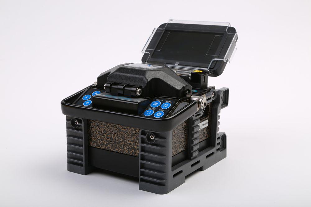 Mini Fiber Optic Fusion Splicer Machine/Eloik ALK-88/10g sfp/splice tray/1550nm edfa/optical light source/mini plc/Fibra optica(China (Mainland))