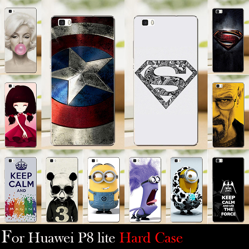 Huawei Ascend P8 Lite P8 Mini Protective Mobile Case Accesary For Cellular Phone Breaking Bad Marilyn