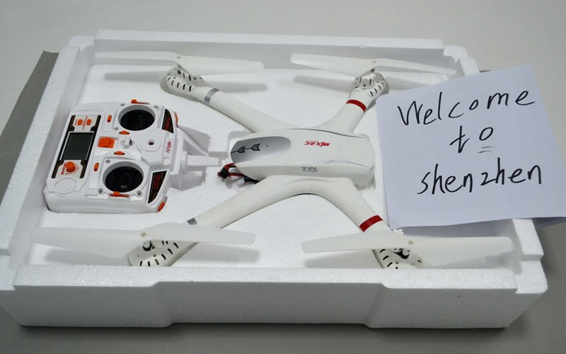 EMS MJX X101 SYNC IMAGE 2.4G RC Quadcopter Drone Rc Helicopter 6-axis Can Add