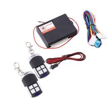12V RC Remote Control Central Door Locks Locking 12V Keyless Entry System Universal Vehicle Auto Car(China (Mainland))
