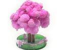 Visual Pink Magic Grow Paper Sakura Tree Magical Growing Trees Kit Japanese Gag Gift Novelty Christmas