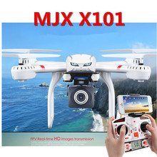 MJX X101 Quadcopter 2.4G RC drone/drone rc helicopter 6-axis gyro can add C4005 c4008 camera(FPV) vs JJRC H16 Tarantula x6 V686G(China (Mainland))