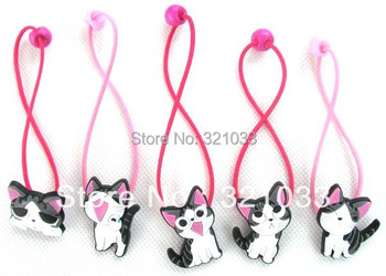 Chi's sweet home cute cat kitty hair clips pins barrette band 20 pcs Girl gift