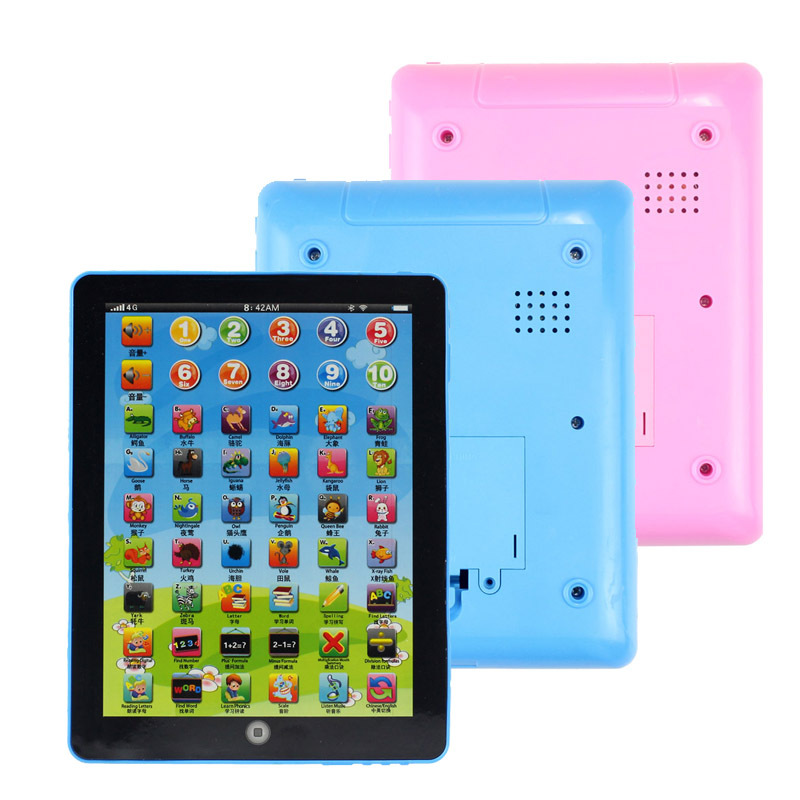 Superb! New Child Kids Computer Tablet Chinese English Learning Study Machine Toy Alipower(China (Mainland))