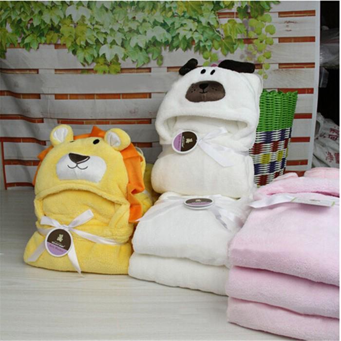 16 стилей форма животных ребенок с капюшоном / ребенка полотенце / новорожденных одеяла / дети полотенце с капюшоном