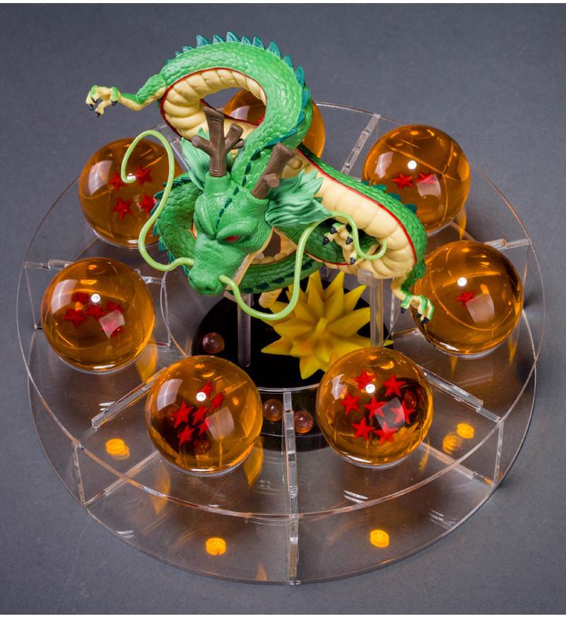 figuras dbz dragon ball z action figures dragonball z figures Anime esferas del dragon+7pcs PVC balls+shelf brinquedos kids toys