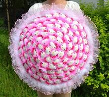 Kt букет 99 негабаритных кукла чеканка девушки отправить друзьям на свадебные подарки на день рождения розы