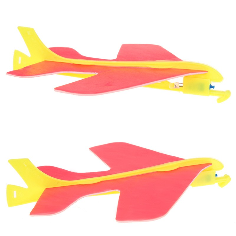 Plane Airplane Glider Toys Mini DIY Youngsters Hand Throwing Flying Lights Model Kids Presents Free transport