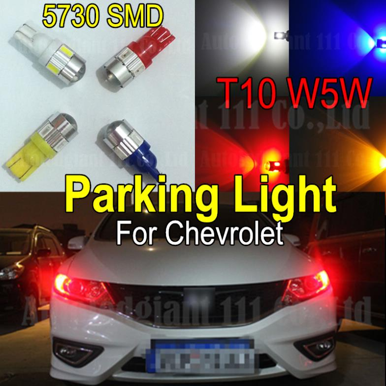 2pcs Led T10 W5W Car Led light for SAMSUNG 5730 SMD Parking Light For Chevrolet Astro Avalanche Chevy Impala Silverado Tahoe(China (Mainland))
