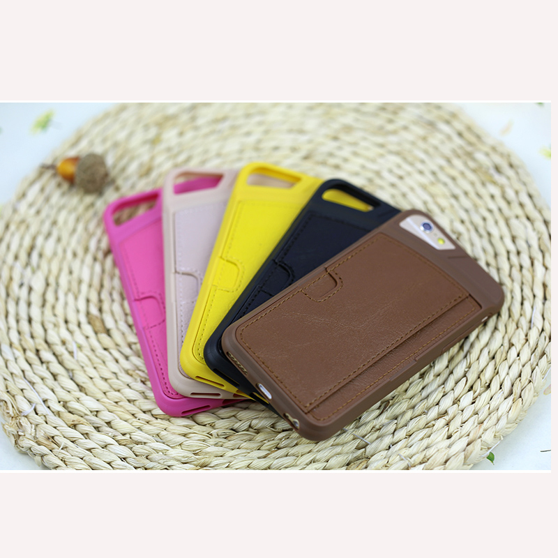 Pu Leather Mobile Phone Case For iphone 6 6S 4.7 / 6 6S Plus 5.5 inch Wallet Cover Cases for Apple iPone 6 With Card Slot(China (Mainland))