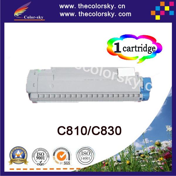 (CS-OC810) Color compatible toner cartridge for OKI 44059108 44059107 C810 C810N C810DN C810CDTN (8k/8k pages)<br><br>Aliexpress