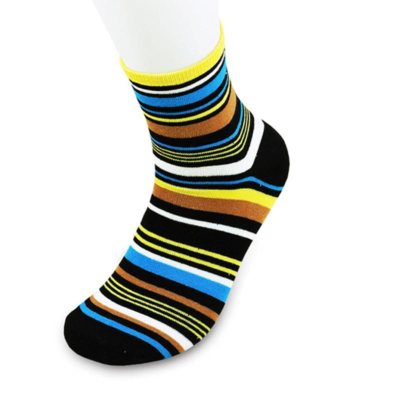 Весна хлопок мужчины в носки британский стиль цвет ткань в полоску марка Man носки для мужчины 5 pairs/lot
