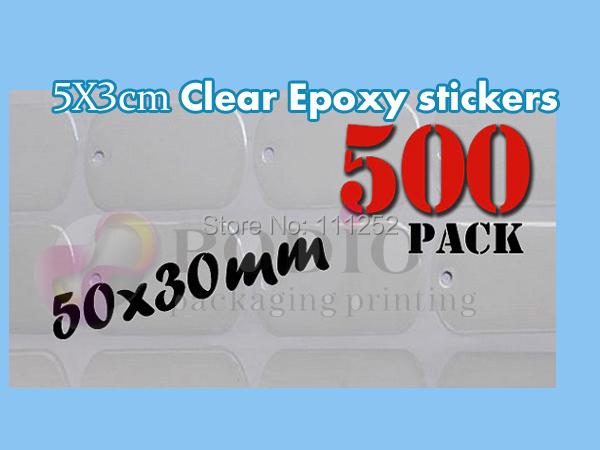 30x50mm 1000pcs/lot clear epoxy sticker, epoxy sticker, custom epoxy sticker logo, diy gifts non- yellowing properties(China (Mainland))