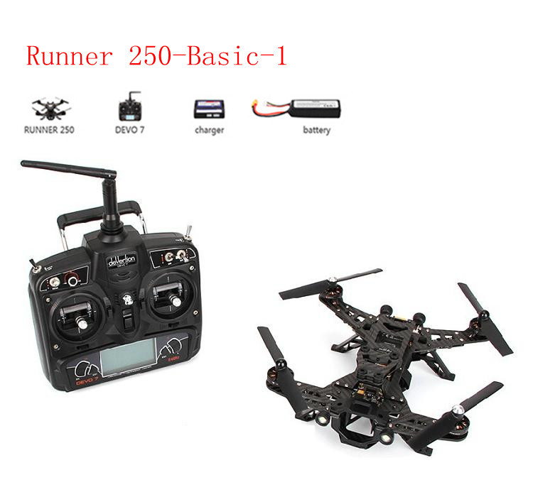 Walkera Runner 250 Cross Drone simple training set Runner 250-Basic-1 with 800TVL HD camera,ultra fast speed of 35-40km/h(China (Mainland))