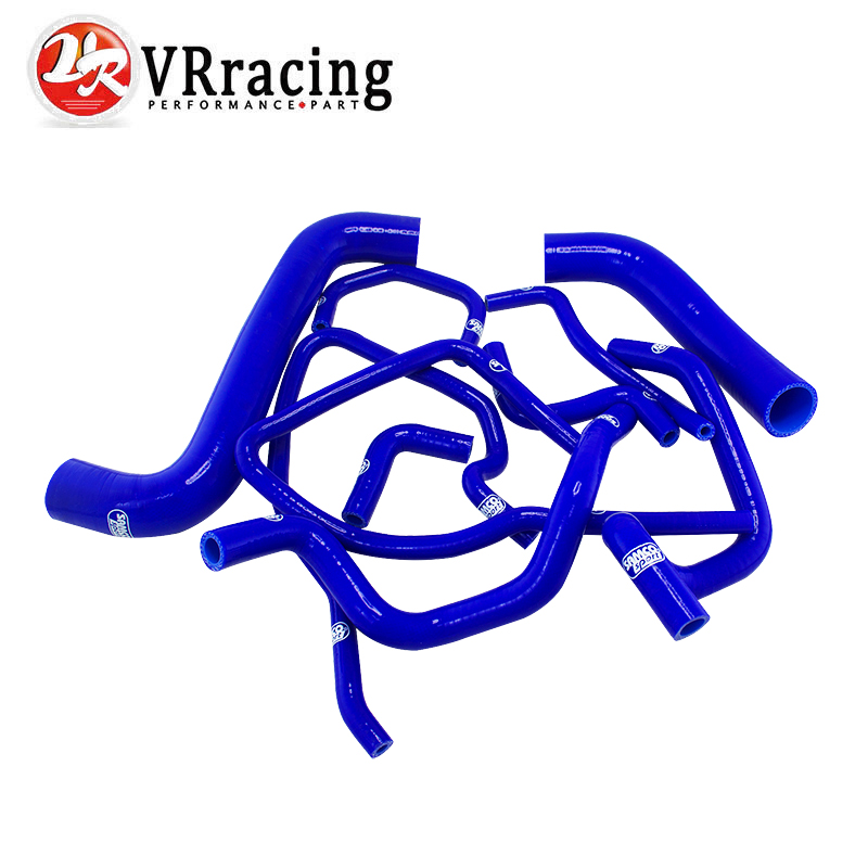 VR RACING- Blue Silicone Radiator Hose Kit for Subaru Impreza WRX/STi GDB,EJ20 10PC VR-LX-1803D-BL(China (Mainland))