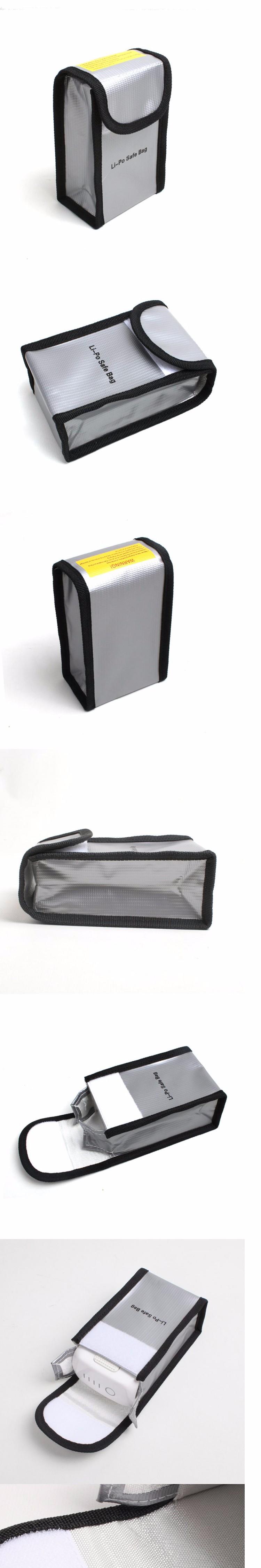 Dji phantom 3 Battery Explosion proof Li-po safe bag dji phantom 4 Professional accessories battery parts rc diy drone kit